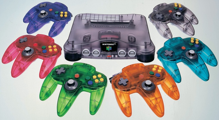 See-through N64 Controllers